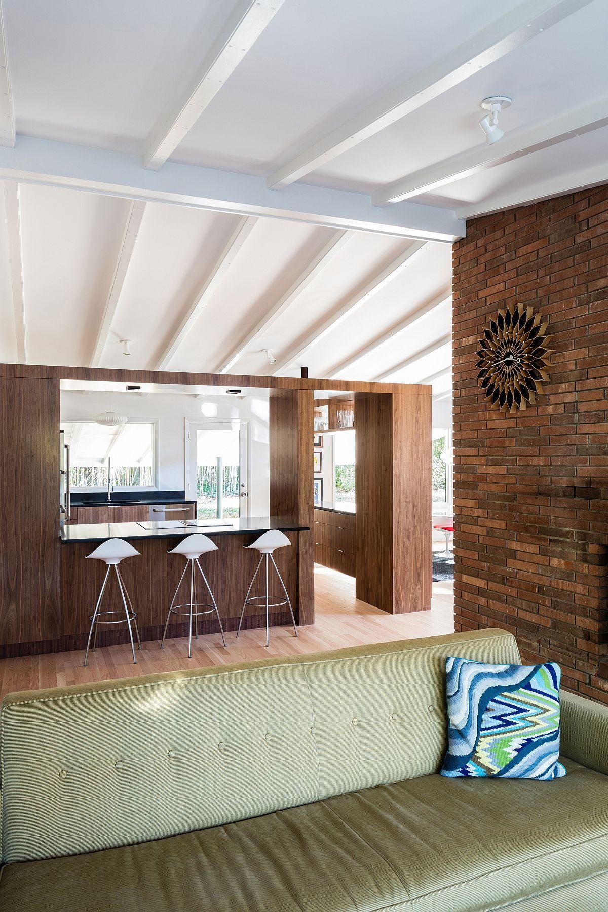 a mid century modern recreation ocotea house renovation in raleigh rh pinterest com