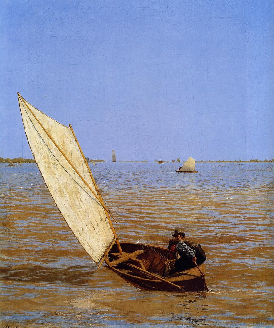 Starting Out After Rail - Thomas Eakins