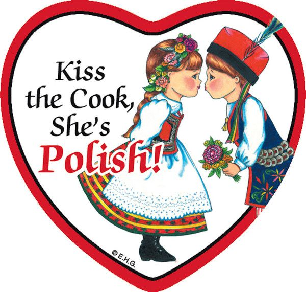 """This charming heart shaped ceramic tile magnet features the saying: """"Kiss the…"""
