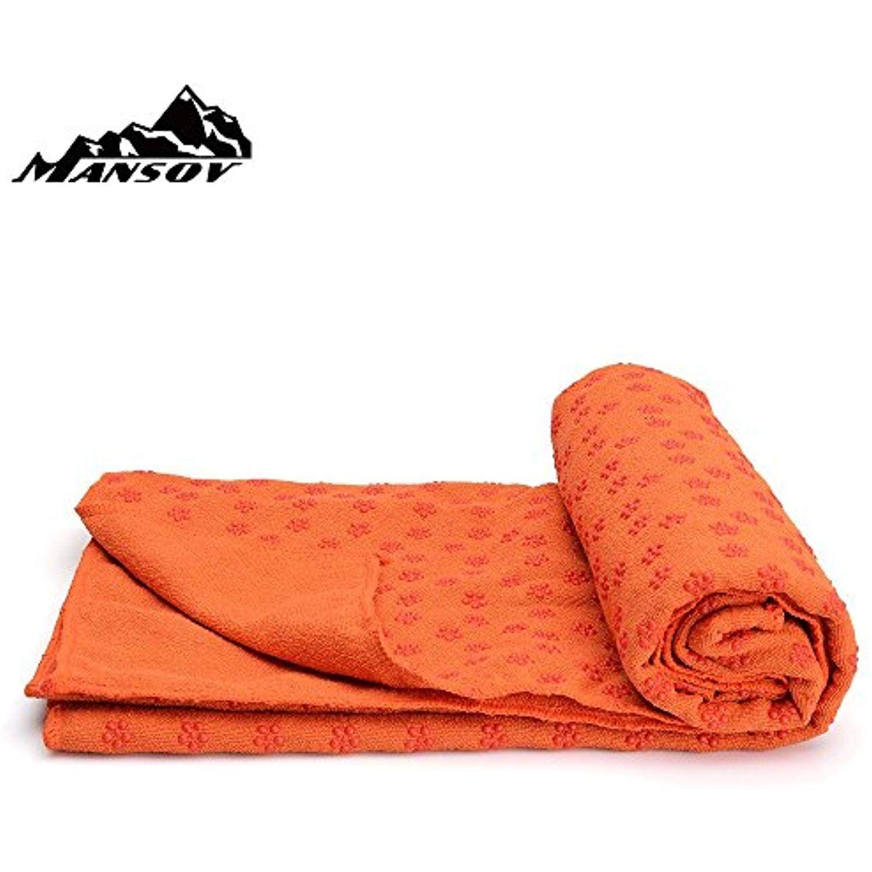Yoohome Yoga Towel Diamond Shape Non-Slip Microfiber Ultralight Ultrathin Soft-Perfect Absorb Sweat NEW