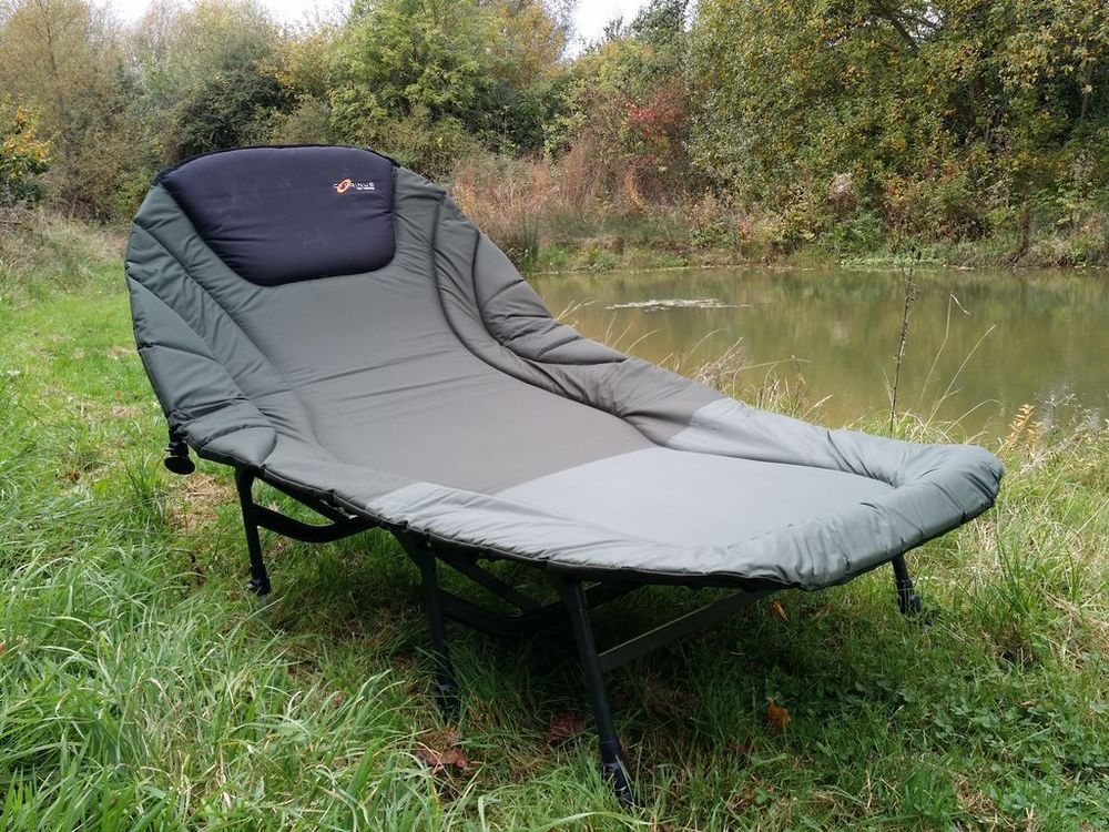 3f91a532ac1 Cyprinus Double 2 man Wide Guy Large 8 leg Carp fishing camp bed chair  bedchair