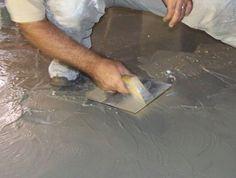 C mo colocar piso de cemento pulido en interiores - Como colocar microcemento ...