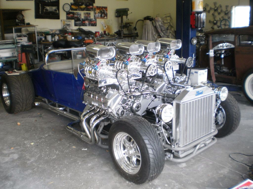 The Double Trouble Hot Rod Has Two Ford Racing Engines Totaling