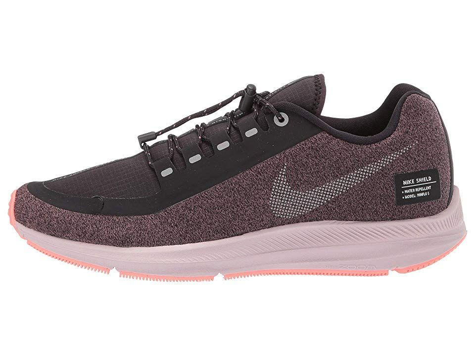 Excluir novedad convertible  Nike Air Zoom WInflo 5 Run Shield Women's Running Shoes Smokey ...