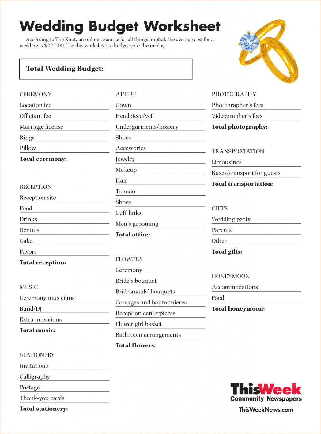 Wedding Budget Planner 25000 In 2020 Wedding Budget Spreadsheet Wedding Budget Planner Wedding Budget Percentage