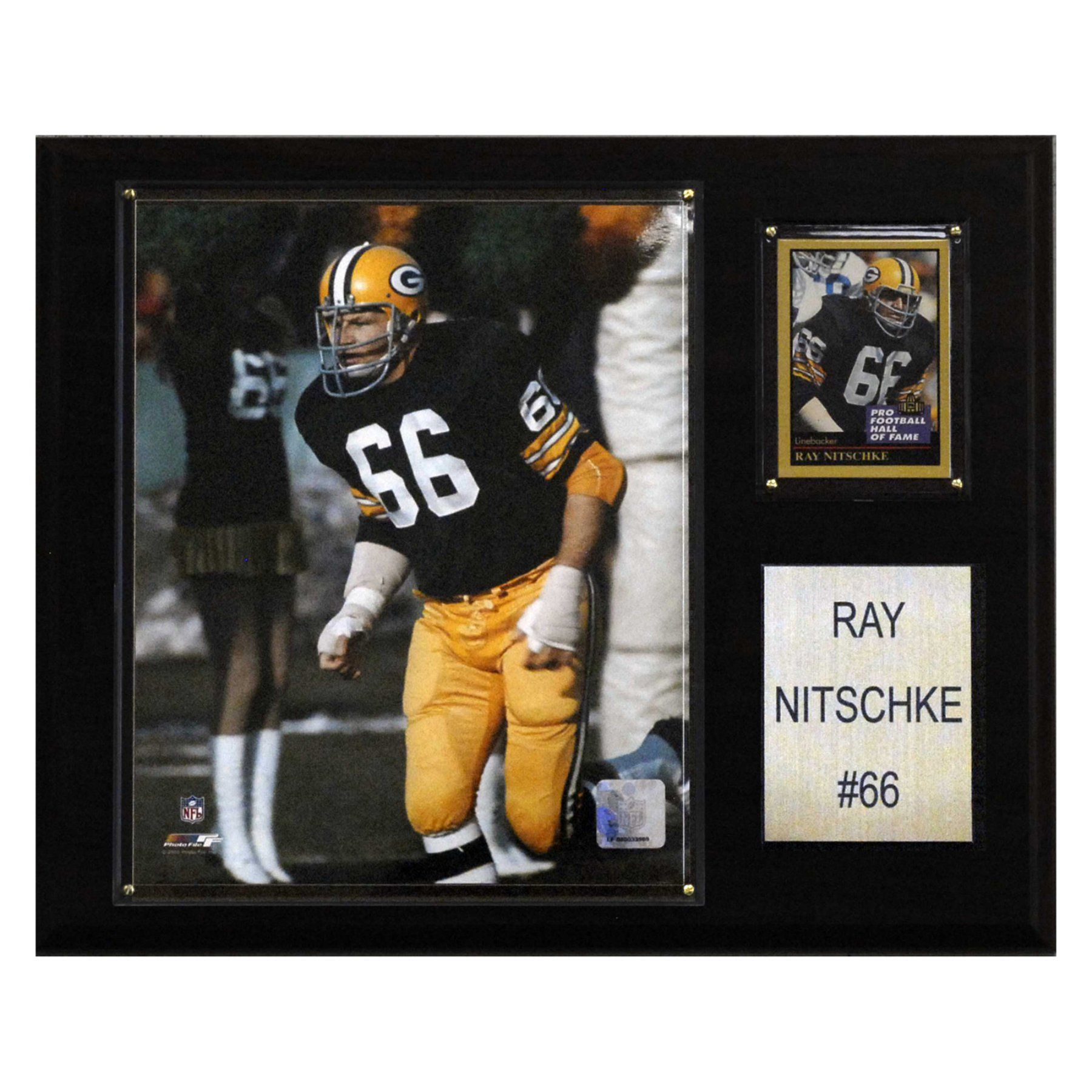 NFL 12 x 15 in. Ray Nitschke Green Bay Packers Player Plaque ... 312490dc1
