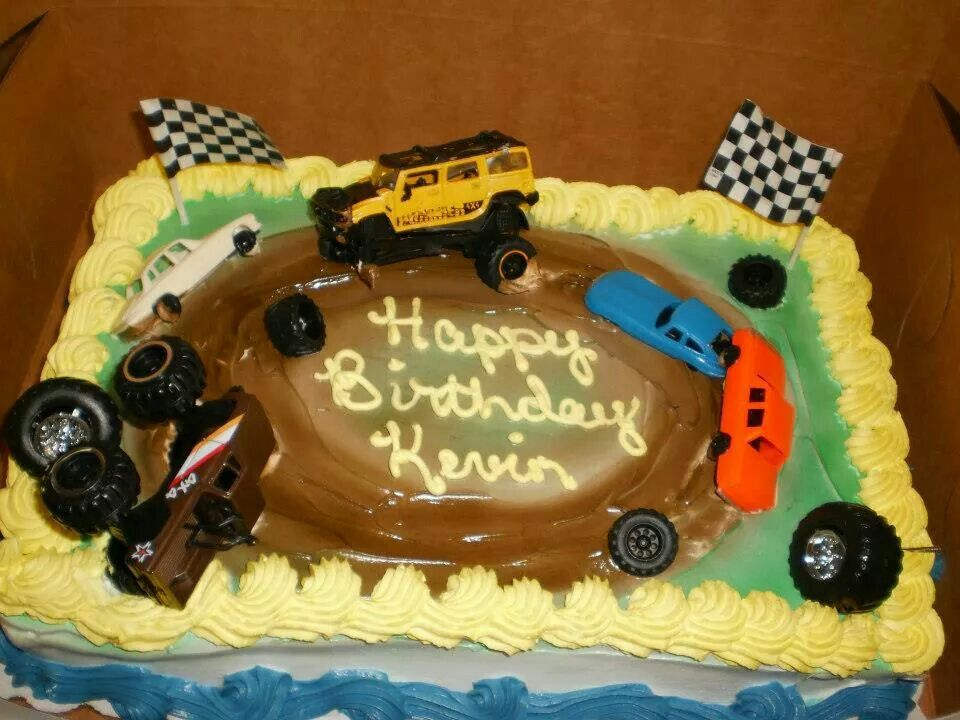 247 best cakes images on pinterest emoji cake anniversary cakes wanting something different for a boys cake this one is a demolition derby themed birthday cake had it ordered with just the dirt and grass colors and sciox Choice Image