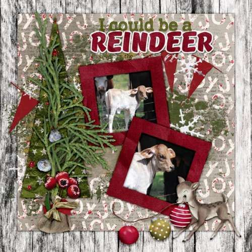 """Here's a LO with one of my December babies.  Created with """"Christmas Comes"""" Bundle  by Dana's Footprint Digital Design here at GDS http://www.godigitalscrapbooking.com/shop/index.php?main_page=product_dnld_info&cPath=217_219&products_id=26396   L.O. by  HY Ellen"""