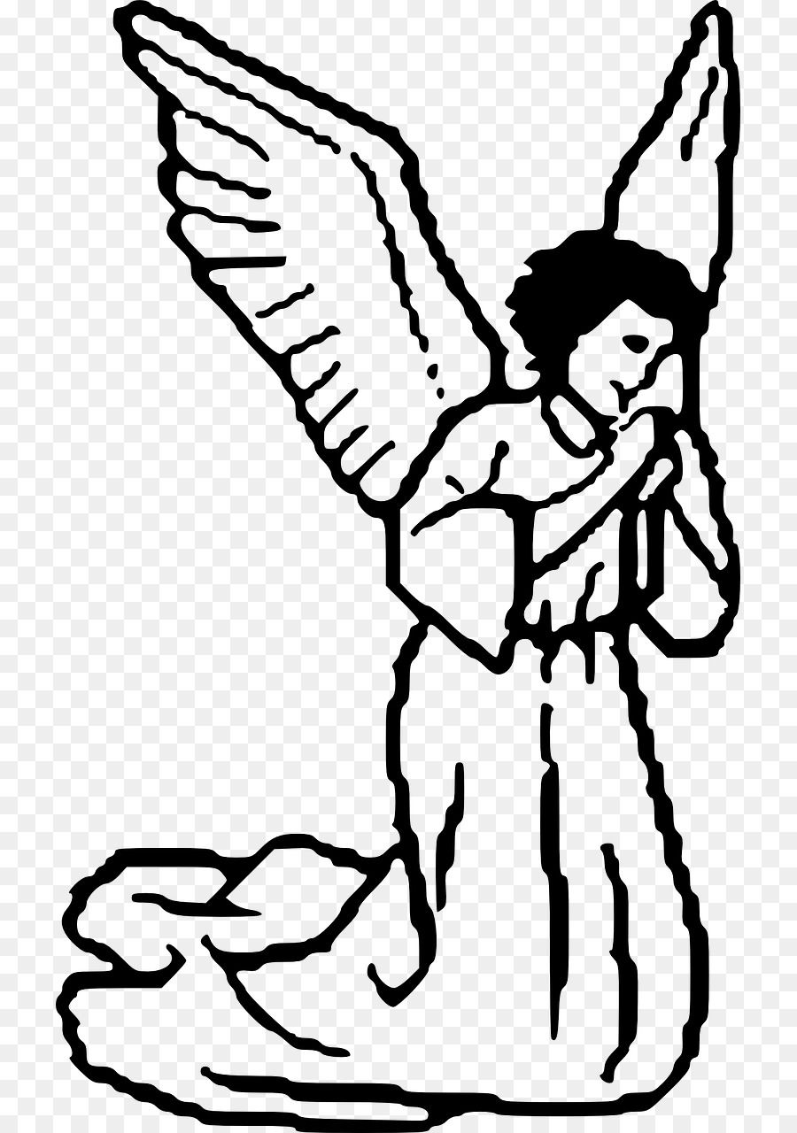 Doodles Clipart Clip Art Library Clip Art Library Angel Coloring Pages Angel Silhouette