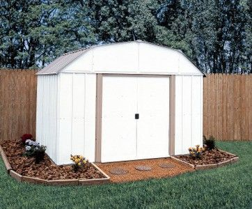 Arrow Lexington 10x14 Storage Shed Garden Shed Kits Metal Storage Sheds Shed