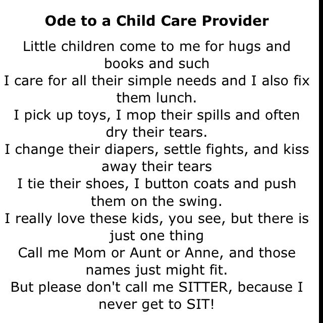 Must Have For Childcare Providers Nothing Upsets Me More Than Being