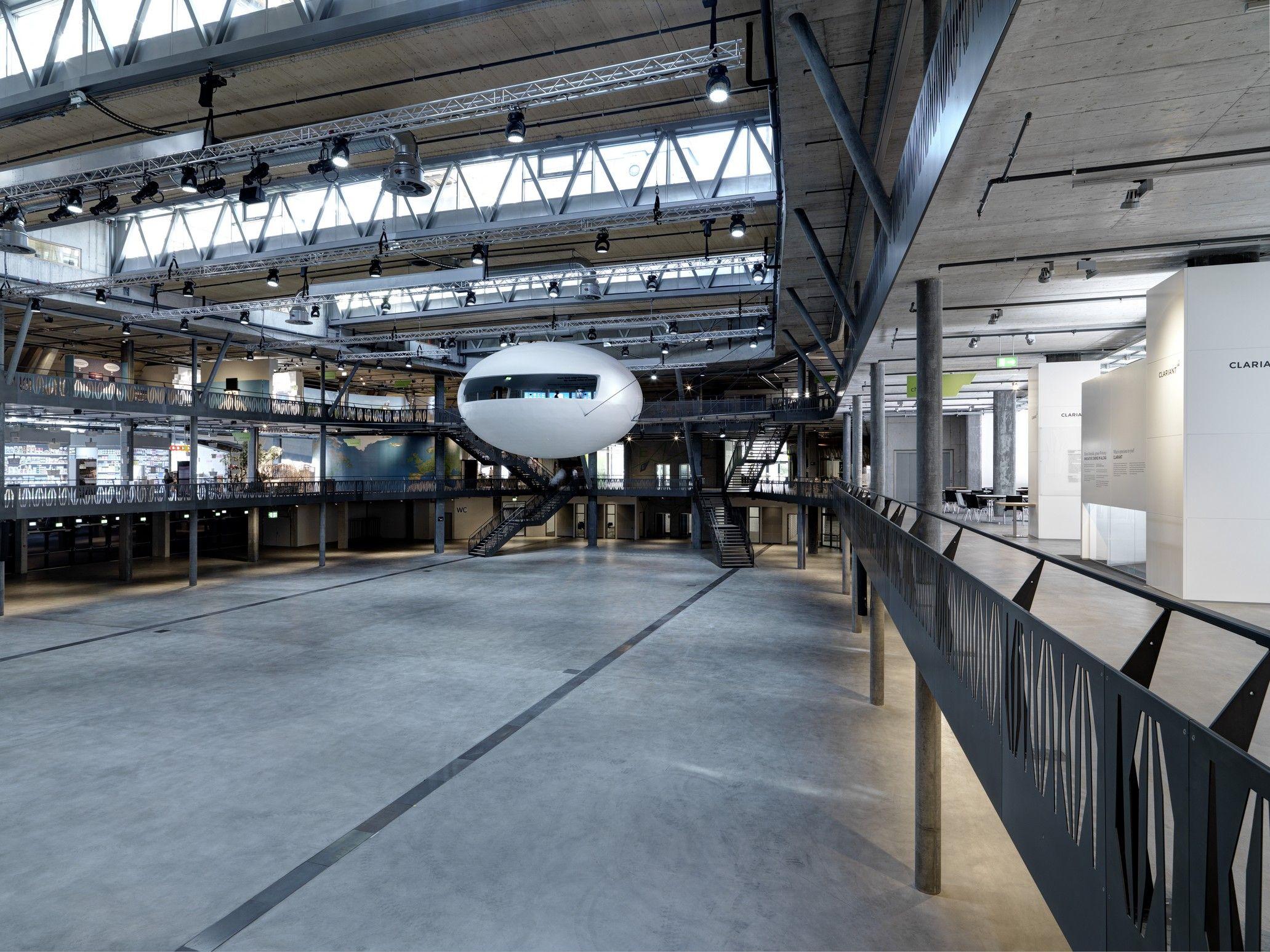 Umwelt Arena by Rene Schmid Architekten
