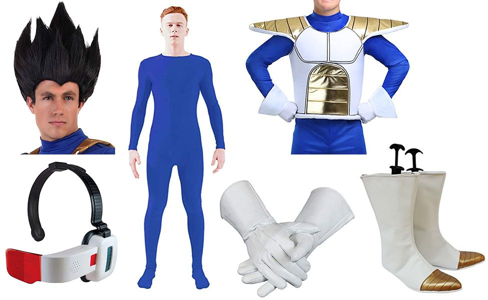 Make Your Own Vegeta From Dragon Ball Z Costume Dragon Ball Z Dragon Ball Diy Costumes