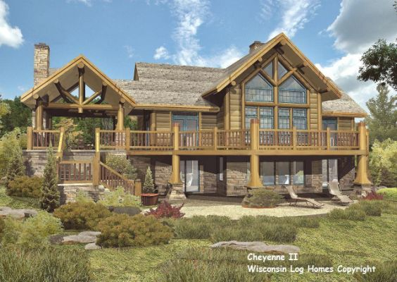 Log Home Floor Plans By Wisconsin
