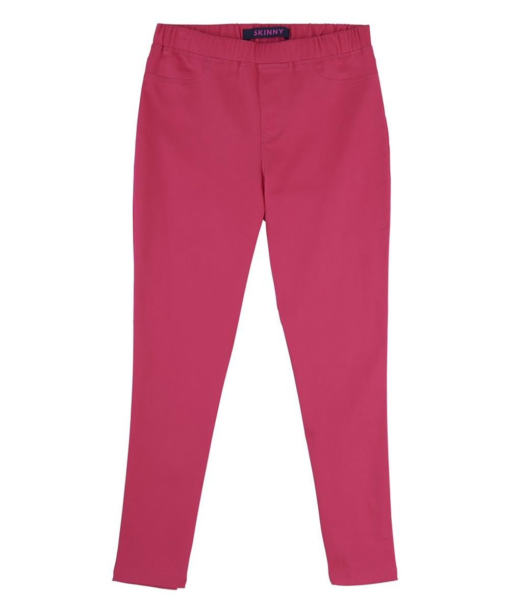 Fuchsia Pull-On Twill Pants - Toddler & Girls | Toddlers, Twill ...