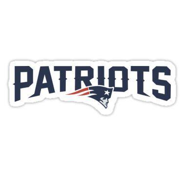 'patriots logo' Sticker by indrilaila | Patriots, New ...