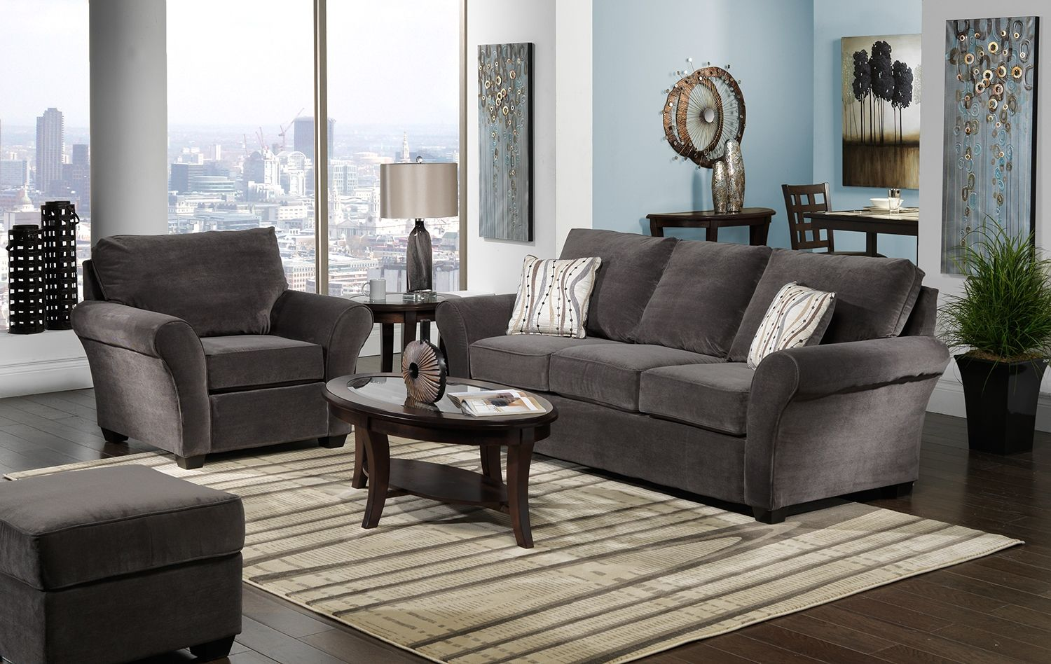 chester upholstery collection  leon's  furniture living