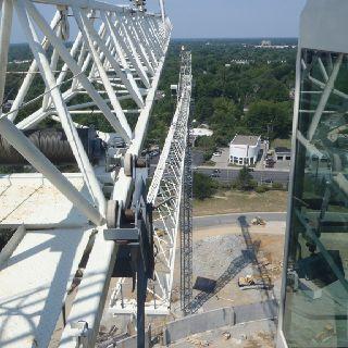 Tower Crane Operators View Crane Construction Tower Last Dream
