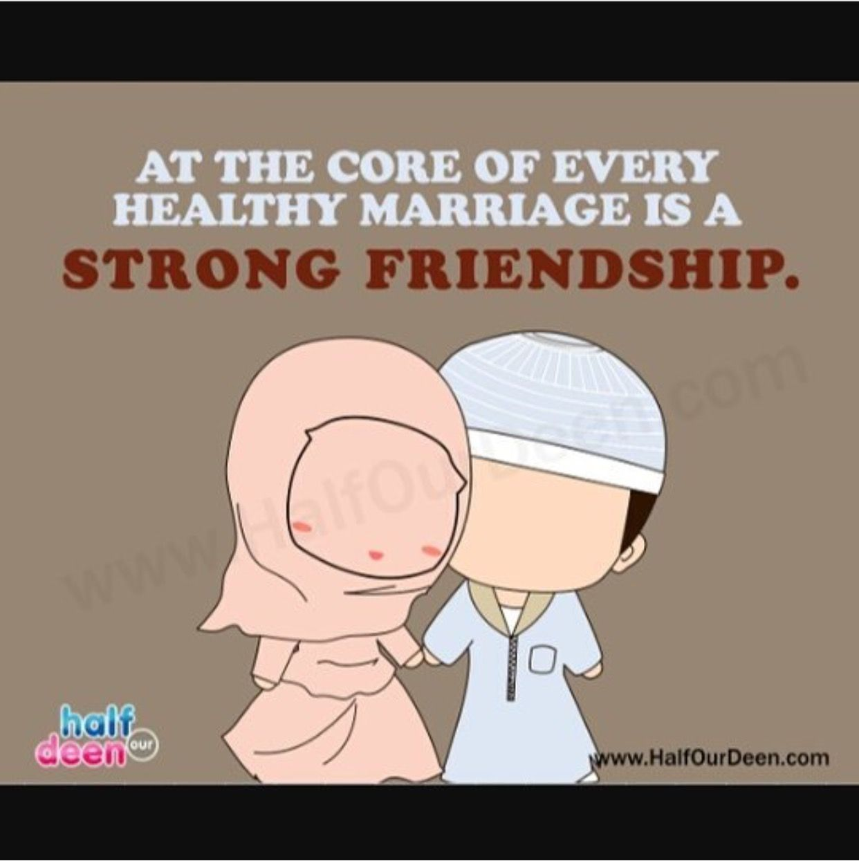 Islamic Quotes About Friendship Friendship Is At The Core Of Every Healthy Relationshipthat's