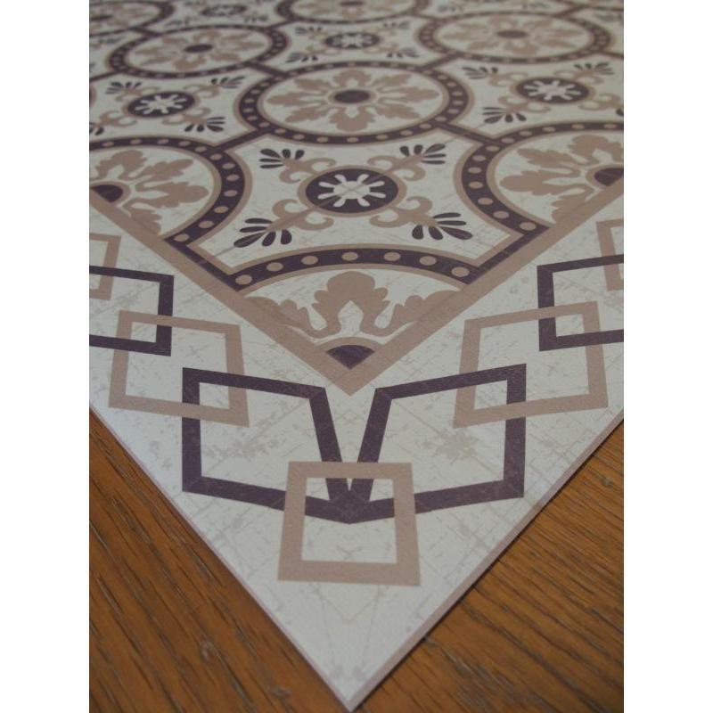 Tapis vinyle PVC - Romantic beige - 60x80cm | Tapis, Vinyle ...