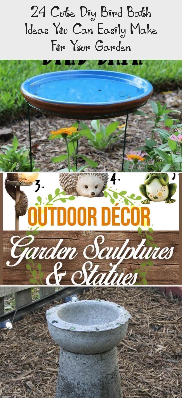 Photo of 24 Cute Diy Bird Bath Ideas You Can Easily Make For Your Garden – Best Diy