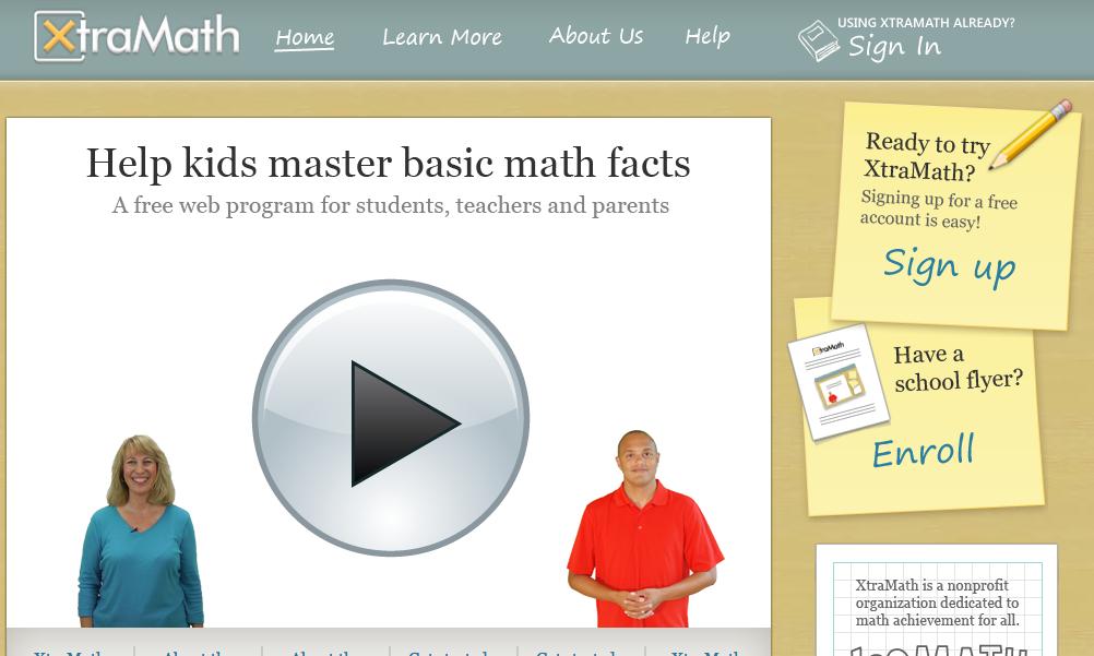 Xtra Math- Free Online Math Fluency Building Website!   Technology ...