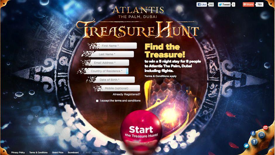 Atlantis Treasure Hunt Digital Marketing Agency Digital Marketing Web Development Design