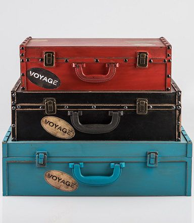 Koffer Deko deko koffer home affaire laden deko ideen
