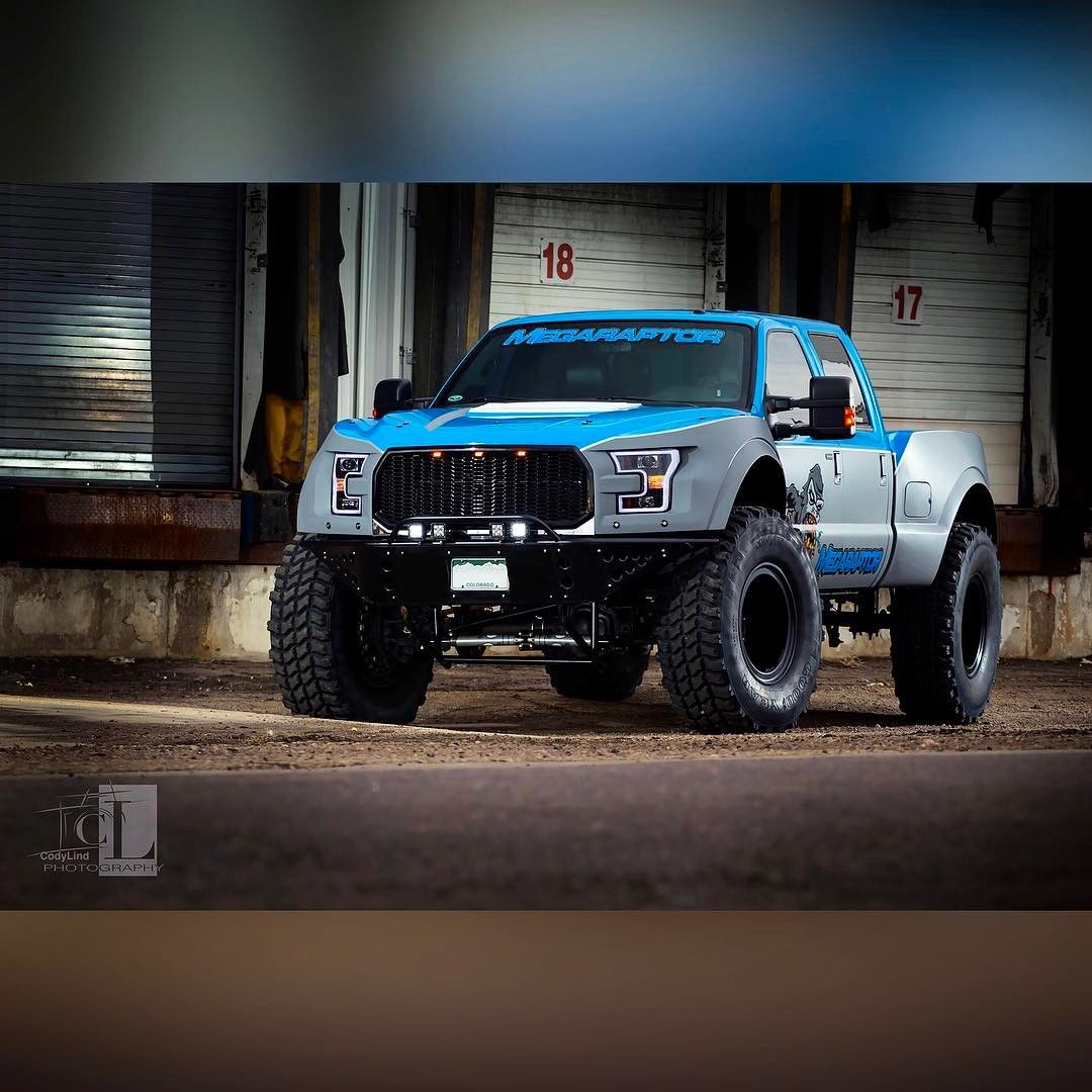Ford Bronco Raptor >> A Ford Mega Raptor | Mega Raptor | Ford pickup trucks, Ford trucks, Trucks