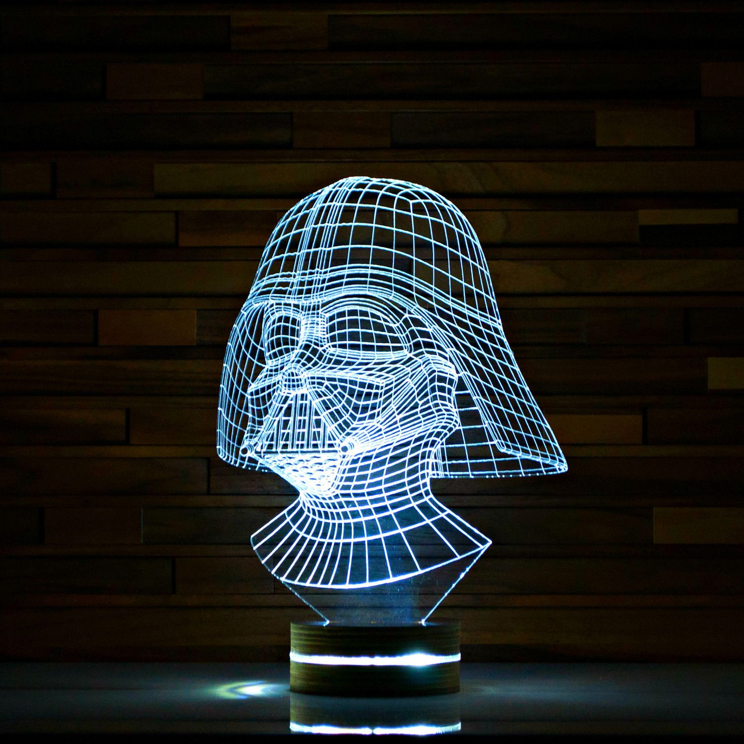 Darth Vader 3d Led Lamp 3d Led Lamp Star Wars Night Light Touch Of Modern
