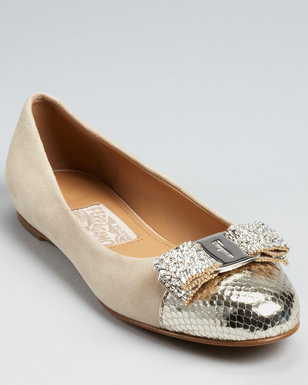 Salvatore Ferragamo Flats - Baltica Suede   Bloomingdale's. Suede FlatsSalvatore  FerragamoBallerina FlatsBalletDancing ShoesComfortable ...
