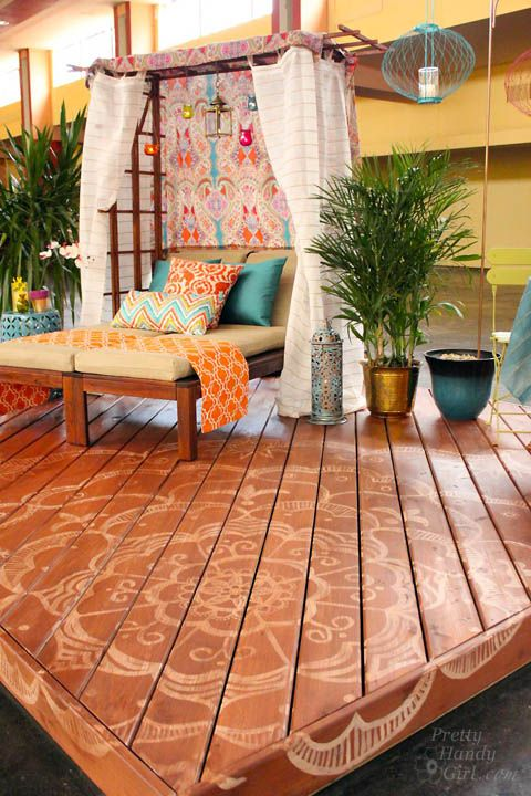 Outdoor Spaces · Bali Dream Deck For Thompsons Water Seal   Pretty Handy  Girl