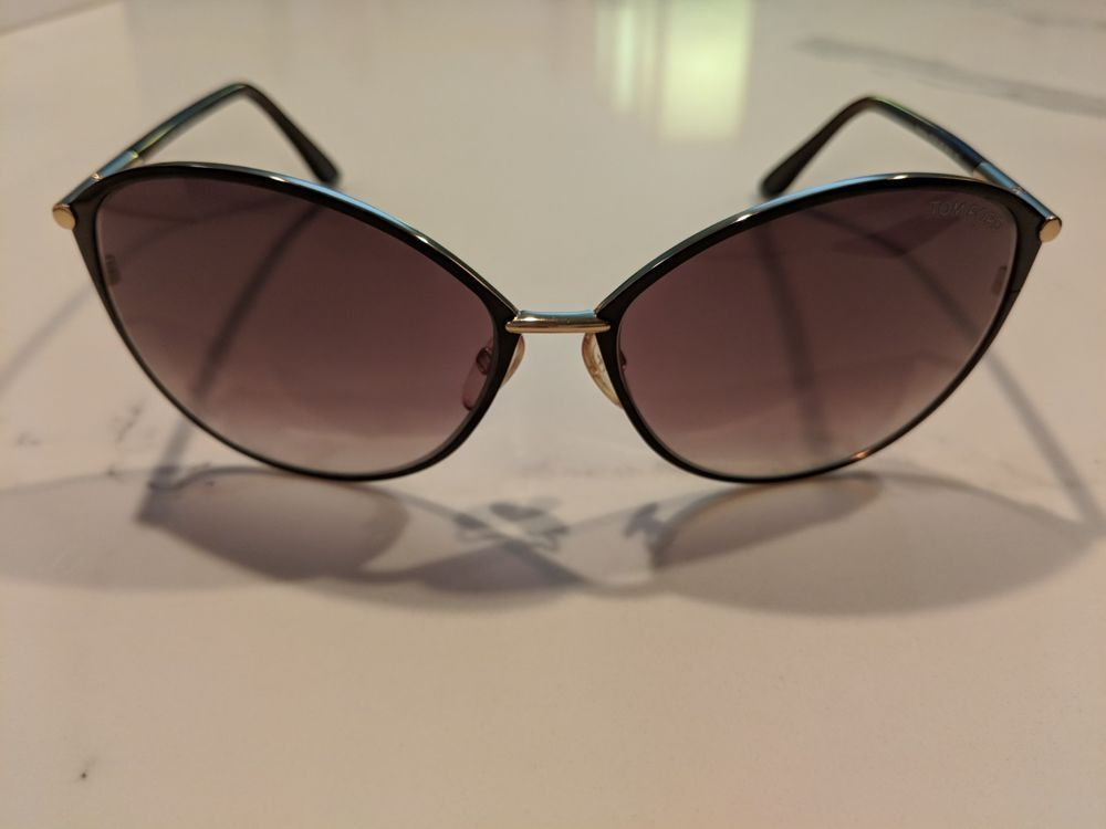 4bf32b54f960 Tom Ford 0219 Penelope Women s Cat Eye Sunglasses TF320 28F 59-15 130   fashion  clothing  shoes  accessories  womensaccessories ...