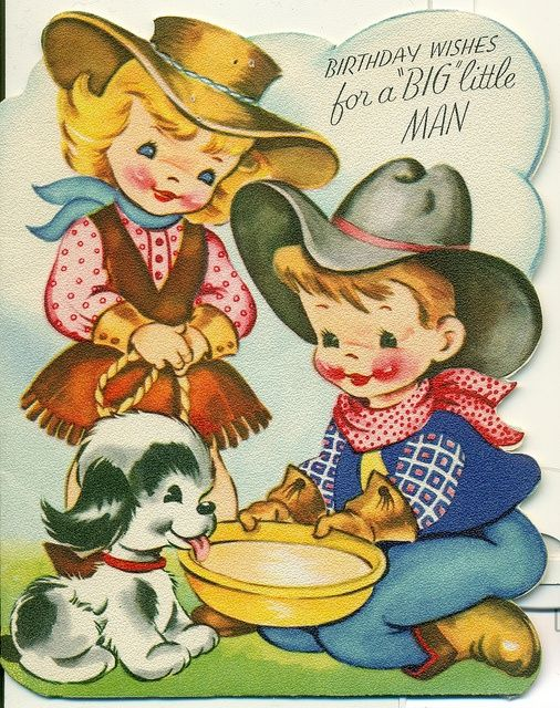 Pin by Charlotte Kempe on MIX VINTAGE 2 Pinterest – Vintage Birthday Cards for Men