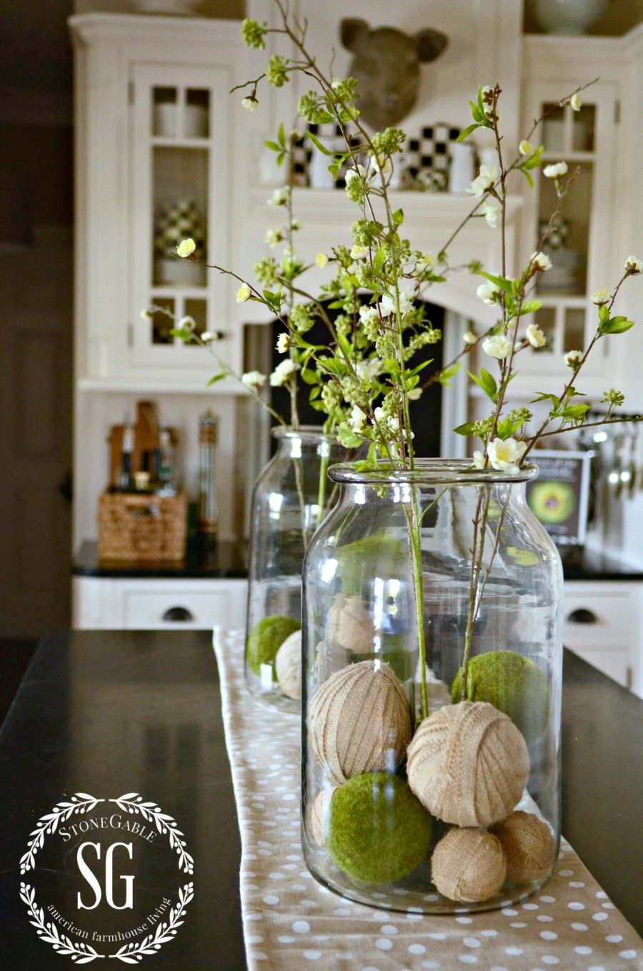 Spring Coffee Bar Decor