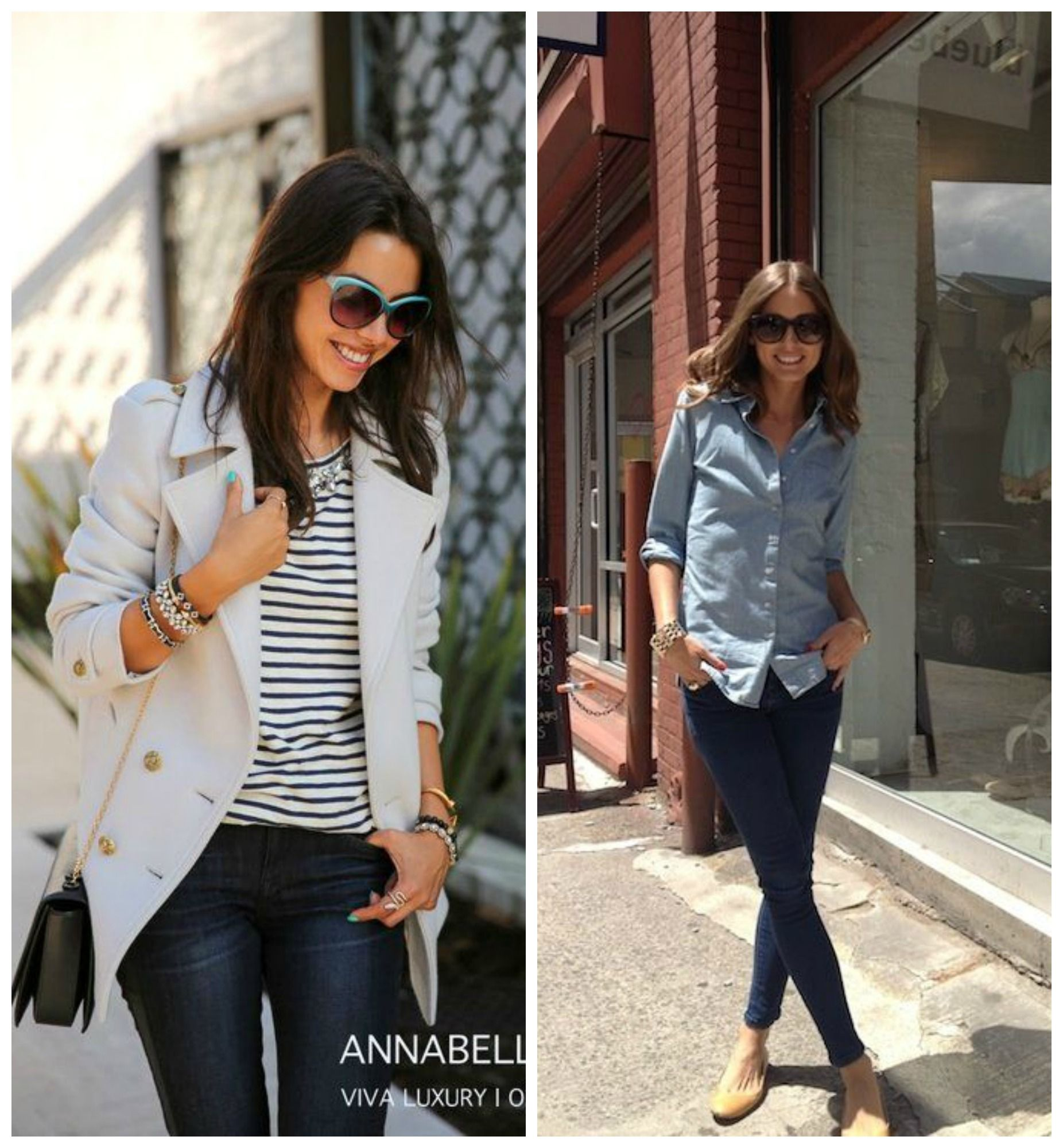Dark Wash Skinny Jeans Chic | Denim | Pinterest | Fall winter ...