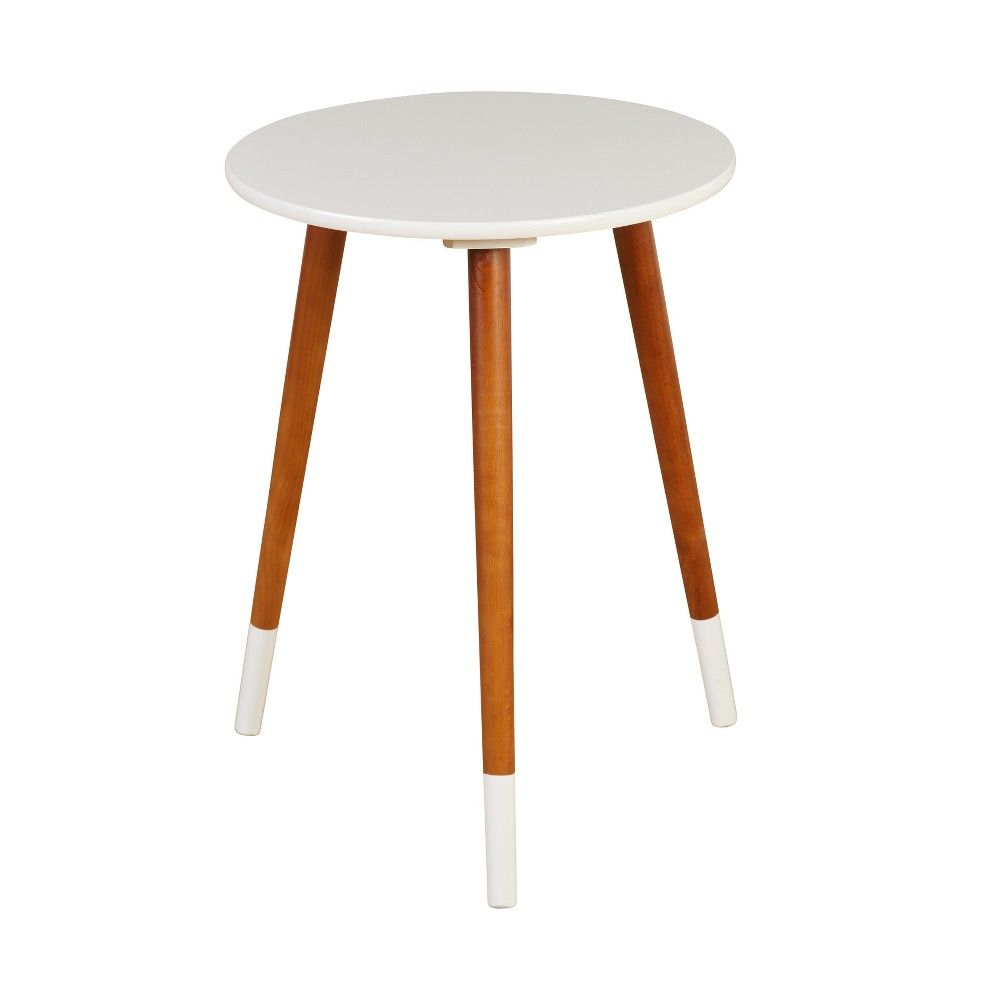 Julia End Table White Buylateral Buylateral End Tables Side Table