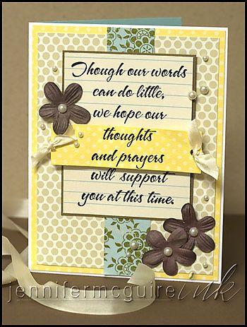 Bereavement Card Angels, Sympathy Card