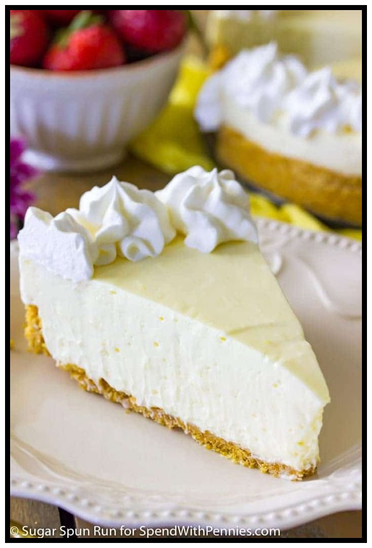 38 Reference Of Basic Cheesecake Recipe No Bake In 2020 Lemon Cheesecake Recipes Cheesecake Recipes No Bake Lemon Cheesecake