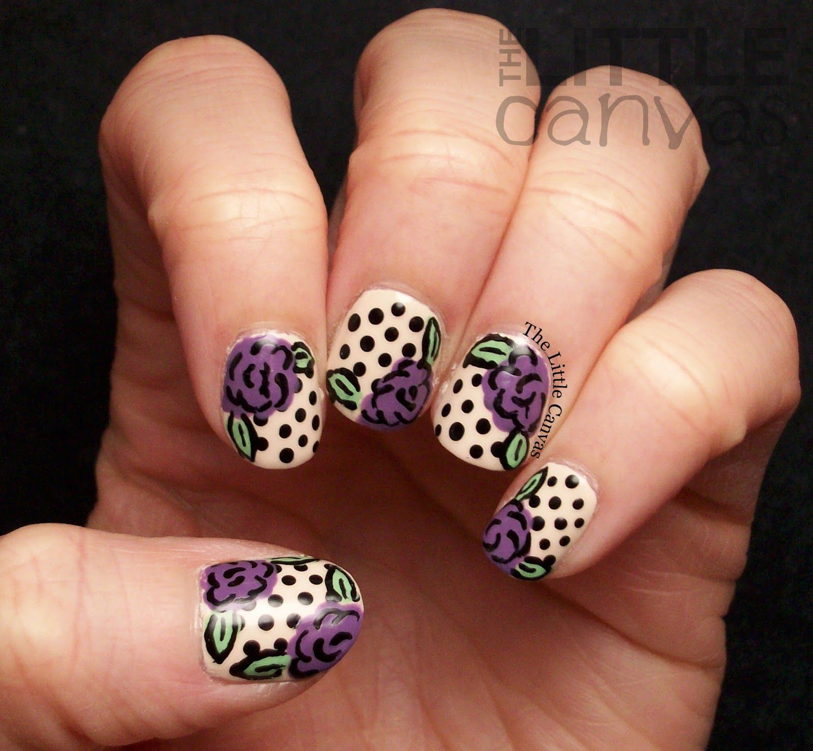 The Little Canvas #nail #nails #nailart