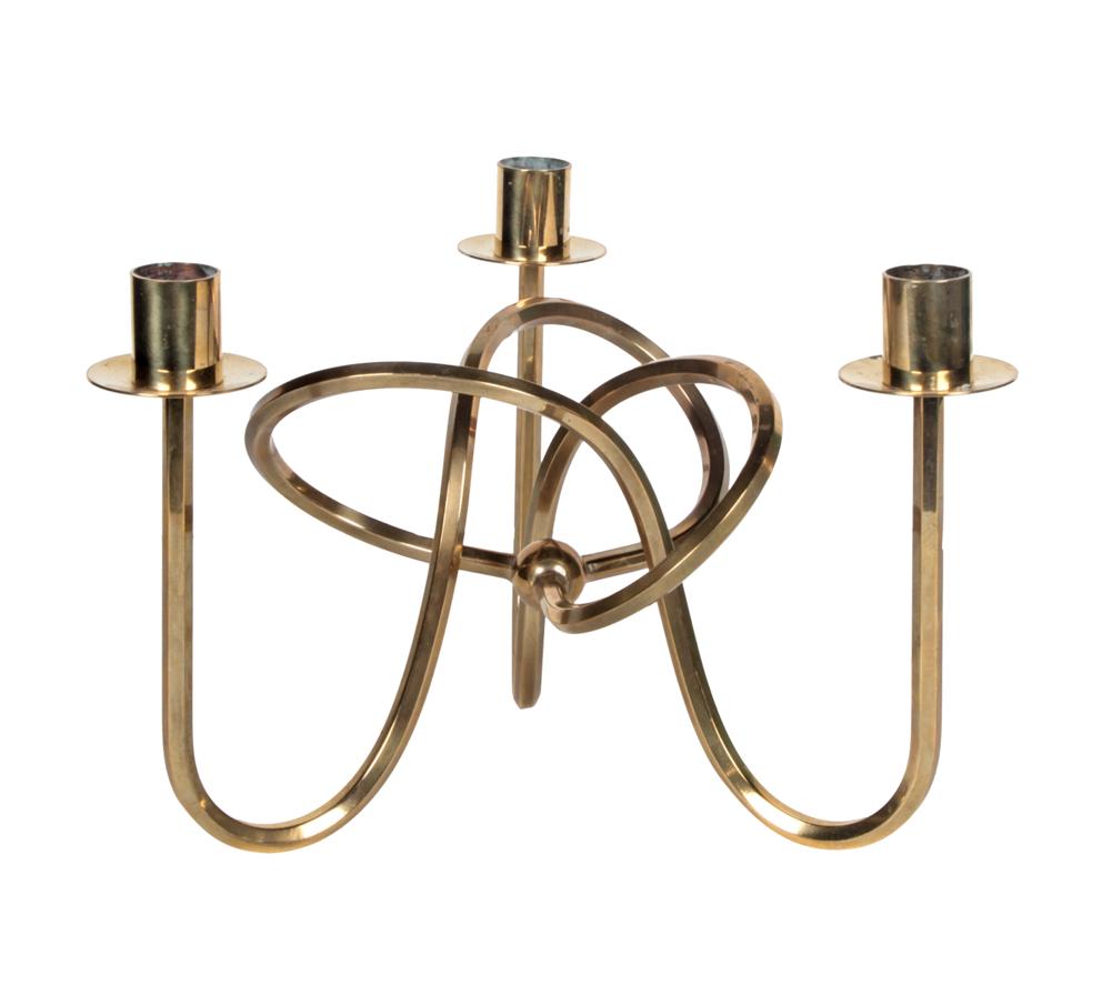 Josef frank brass knot candle holder furniturehome pinterest