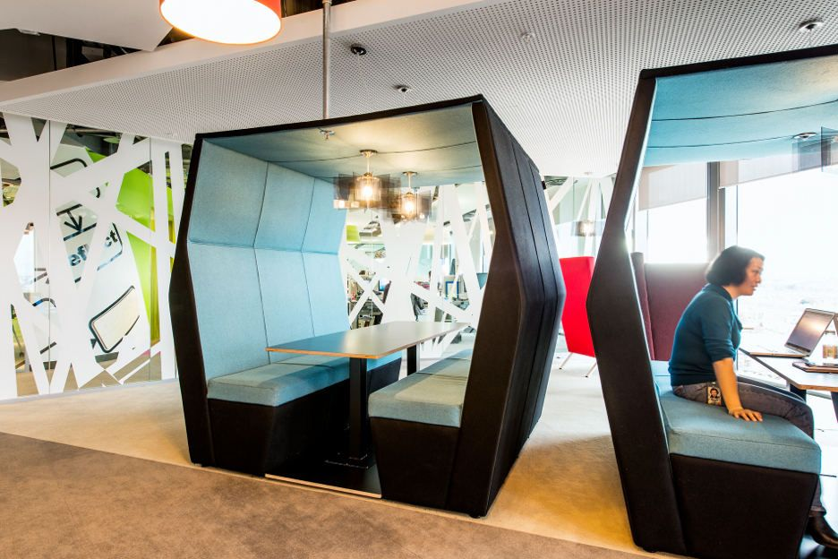 creative office environments - Google Search | isolement ...