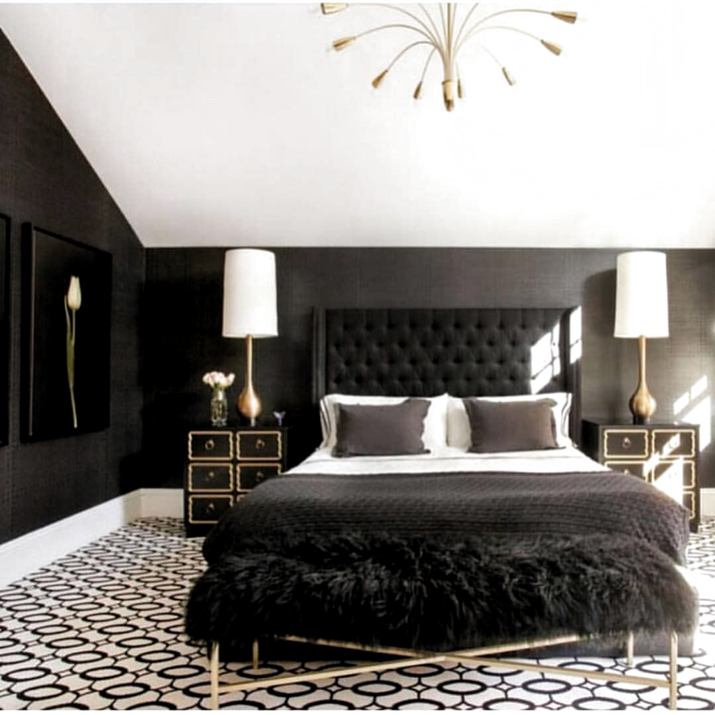 17+ Black and gold bedroom accessories ideas