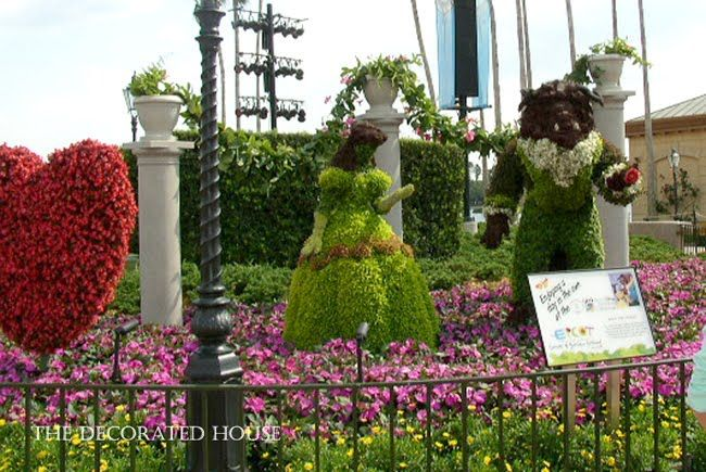 The Decorated House: ~ Almost Spring, Epcot Flowers