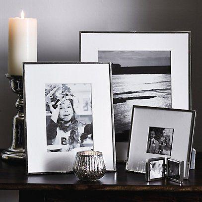 Fine Silver Frame 8x10 - Photo Frames | The White Company | Artwork ...