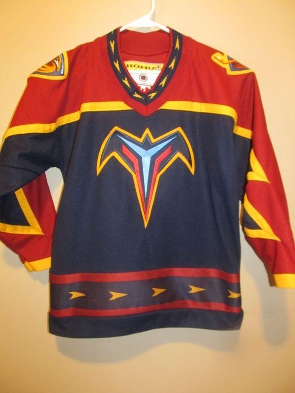 ... Game Worn Jersey - KOHO Atlanta Thrashers Hockey Jersey  e73c93e76