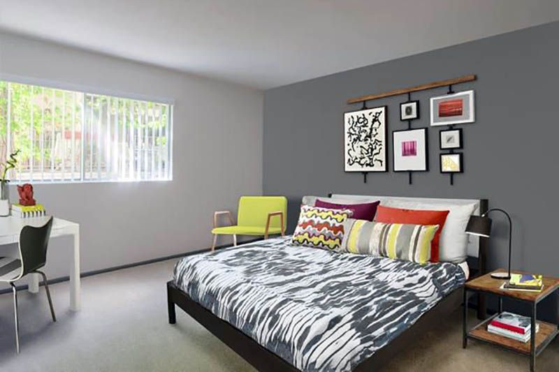Accent Wall Colors Design Guide Grey Accent Wall Accent Wall Colors Gray Painted Walls