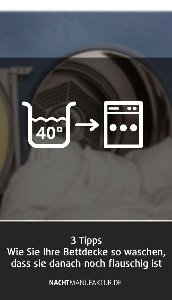 Bettdecke Richtig Waschen So Geht S Nachtmanufaktur Haushalt