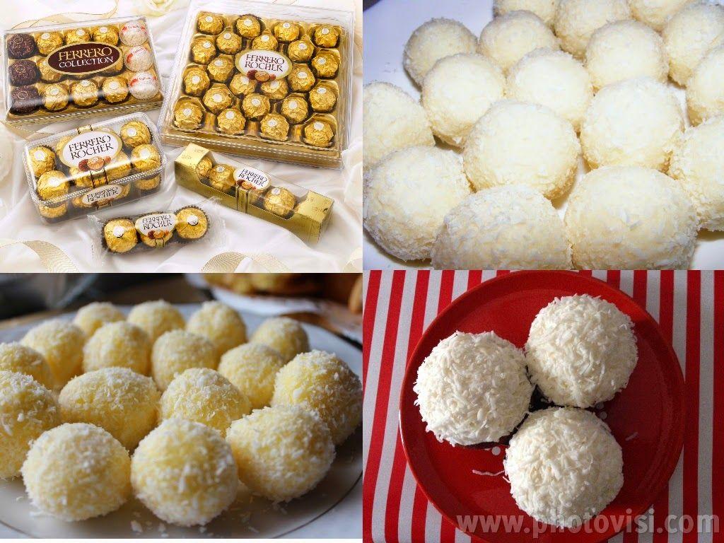 عالم الطبخ والجمال طريقة عمل الرافيلو Arabic Sweets Food Sweets