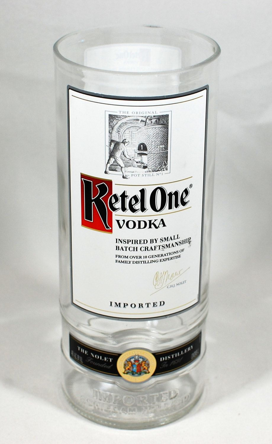 Special sale 8 ketel one vodka vase handcrafted from recycled 8 ketel one vodka vase handcrafted from recycled liquor bottle by reviewsmspy